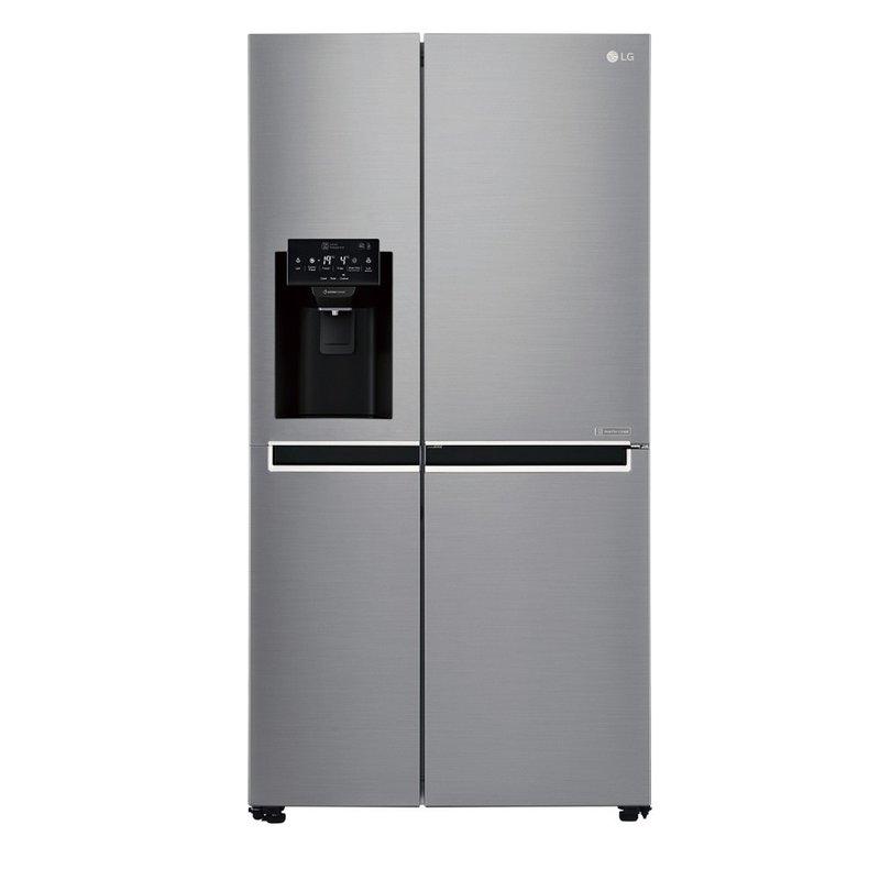 Хладилник с фризер LG GSL-760PZXV SbS, Клас А+, Общ капацитет 601 л, NoFrost